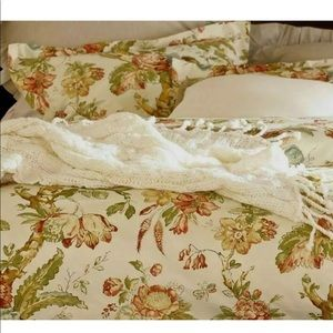 POTTERY BARN FLORAL KATHERINE PALAMPORE PILLOWCASE
